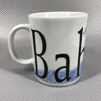 Starbucks Bahrain 16 Oz City Mug Collector Cup Tea Coffee 2002