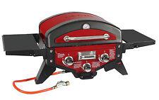 El Fuego AY5262 Tischgasgrill Smoker Medison rot,  2 Brenner+Aromabrenner Grill