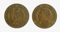 pci4957) FRANCE NAPOLEON III - 2 CENTIMES 1854 D