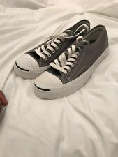 Converse Jack Purcell grey low top sneakers (Size 7)