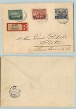 Russia Levant 1912 cover used Constantinople to Stettin offices Turkish . f6973