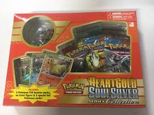 Pokemon HeartGold & SoulSilver Series Gift Set. 5 packs Promos, Boosters, Figure