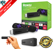 Roku 3600R Media Streaming Stick HDMI with Remote Control, 2016 Model, Brand New