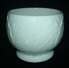 SHORTER & SON LTD White Cabbage Leaf  2 3/4 inch  Sugar Bowl / Preserve Pot ?