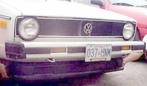 1975-1984 Volkswagen Rabbit Showcars Fiberglass Front Air Dam