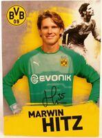 Marwin Hitz + Autogrammkarte 2018/2019 + Borussia Dortmund + AK201929 +