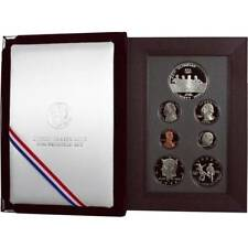 1996 US Proof Prestige set w/Olympic silver $1+ Olympic $.50 COMPLETE MINT cond