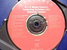 C & C Music factory Keep it comin 3 mix 1992 U.S.A Promo CD single rare