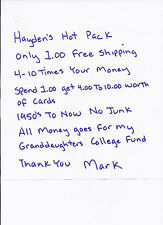 Haydens Hot Pack 4To 10 Times Book Value