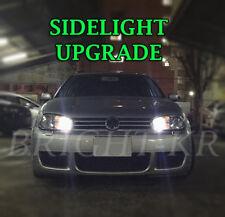 VW GOLF MK4 MK5 BRIGHT PURE WHITE SIDELIGHT LED LIGHT BULBS- CANBUS ERROR FREE