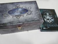 TWILIGHT CREPUSCULO BOX COFRE JOYERO COLLECTOR EDIT 3 DVD STEELBOOK POSTALES &