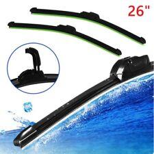 Universal 26'' Bracketless Windshield Wiper Blade Car Window U-type Frameless