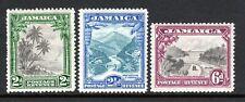 Jamaica 1932 Set SG111-113 M/Mint Cat £70
