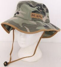 NEW Mississippi Ole Miss Rebels Camo Zephyr Fishing Sun Bucket Hat Adult S/M
