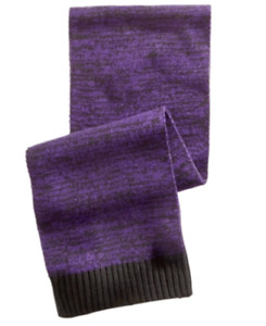 Alfani Men's Space-Dyed Scarf in Bright Plum, Retail $40.00