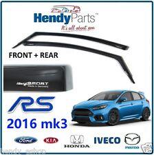 Nouveau! authentique ford focus rs 2016 MK3 climair vent air déflecteurs teinte sombre