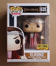 Elrond #635 Funko Pop! Movies Lord Of The Rings Hot Topic Exclusive