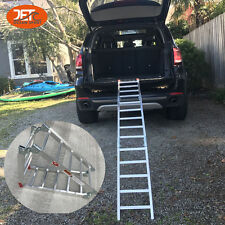 2M Multifunction Aluminium Folding Loading ATV Ramp Motorcycle Buggy Trailer