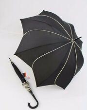Pierre Cardin Automatik Regenschirm für Damen elegance 03 taupe Taschenschirm