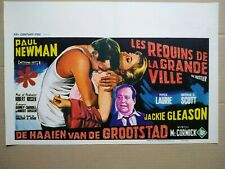 Affiche de cinema retro L'arnaqueur / the Hustler