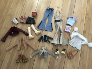 My Scene Doll Original Clothing 2002 Barbie Chelsea Madison bags shoes 18 pc LOT