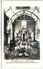 CP 02 Aisne - Rougeries - 12 Août 1928 - Bénédiction Statue de Ste Thérèse - d