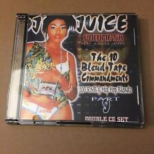 DJ Juice #58 The 10 Blend Commandments 100 RnB & Hip Hop Blends 2 Mixtape CD Set