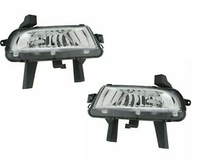 BUICK LACROSSE 2014-2016 PAIR LEFT RIGHT DRIVING LAMP FOG LIGHT BUMPER NEW SET