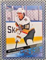 2020-21 Upper Deck Series 1 Young Guns PEYTON KREBS #239 Vegas Golden Knights RC