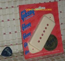 Gibson Les Paul Pickup Cover P-90 Dogear Creme P-100 Guitar Parts SG Custom 80's