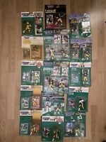Lot Of 17 Rare Pittsburgh Steelers Starting Lineup Figures NOS MINT