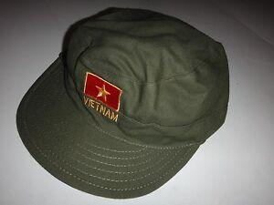 Vc Vert Od Soldat Utility Chapeau Avec Socialiste Republic De Vietnam Logo