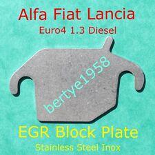 EGR blanking plate 1.3 Multijet Fiat 500 Panda Punto Doblò Idea Qubo Alfa MiTo