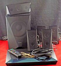 Sony Blu-Ray Home Theater HDMI, 5.1 Speakers, Remote, Wi-Fi, Bluetooth BDV-E3100