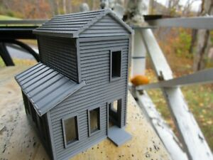 """ S "" SCALE  TRACKSIDE SHANTY / SMALL HOUSE  L@@K  3D PRINTED 1/64  1:64"