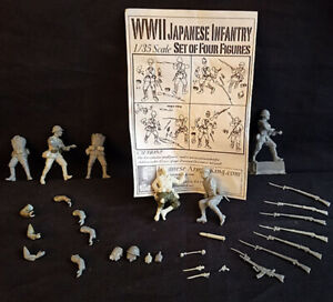 $6.66 APOCALYPSE END-GAME! 1/35 WWII JAPANESE INFANTRY Resin Figures!