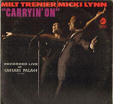 "MICKI LYNN / MILT TRENIER ""CARRYIN' ON"" VOCAL JAZZ LP 1967 CADET 4057"