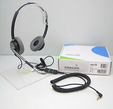ADD770 HEADSET with 3.5mm Plug Cable for Alcatel 4028 4029 4038 4039 4068 &8232