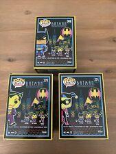 3 Set Batman The Animated Series Harley Quinn Joker Blacklight Funko Pop Vinyl