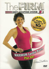 The Firm ~ Maximum Cardio Burn Plus Abs with Allie Del Rio ~ New Sealed DVD