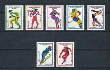 Malagasy #1037-43 MNH, 1992 Winter Olympics