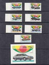 Autos - Malagasy - 1993 set & sheet (Sc 1106-13) -Mnh- A813
