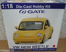 Gate VW New Beetle Coupe '98 Red Car Model Kit Die-Cast 1:18 Scale! Mint in Box