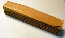 "Bocote Figured (1 pc) Pen/Reel/Razor Blank 1""sq x 5"" - 1055"