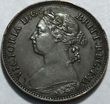 GREAT BRITAIN - Queen Victoria - Farthing - 1885 - KM-753 - About Uncirculated