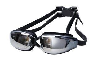 Adult Non-Fogging Swimming Goggles Swim Glasses Adjustable UV Protection