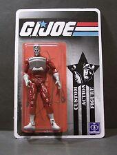 "Custom GI Joe figure and short card of "" TIME TRAVELER"" from micronauts microman"
