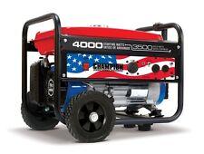 100212 - Champion 3500/4000w Patriot Generator, manual start - REFRUBISHED