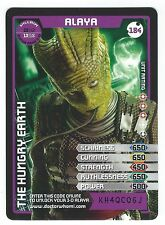 Doctor Who Monster Invasion Extreme Super Rare 3D Card 184 Alaya Good+ Condition