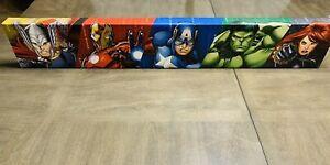 "Artissimo MARVEL Superheroes Canvas Wall Art Deco  36"" x"" 6"" x 1.5"""